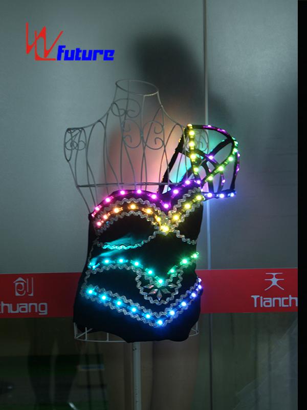 Custom Sexy LED Bikini Gogo Dance Costume for Show WL-0155 Featured Image