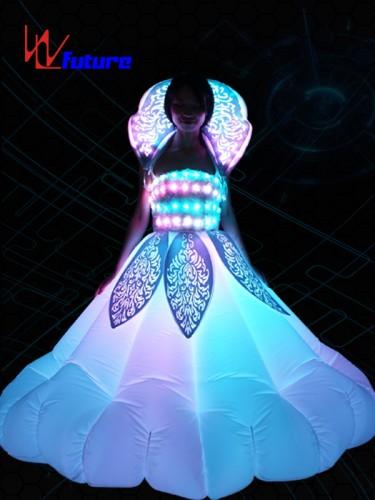 Custom Inflatable LED Dance Costumes, Light Up Rave Dress WL-0179