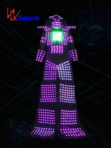 LED stilts walker robot costume for men WL-0211