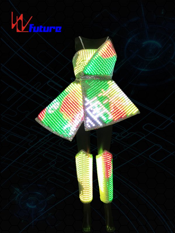 Future Smart LED Pixel Costume for performance WL-0225 Featured Image