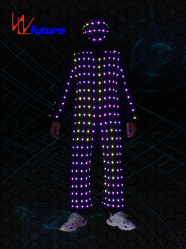 Programmable Performance Wear LED Pixel Cosutmes WL-0232