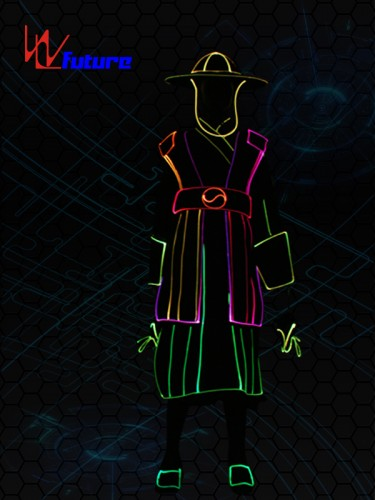 Future LED & Fiber Optice Suit Costumes with Hat and Gloves WL-0237