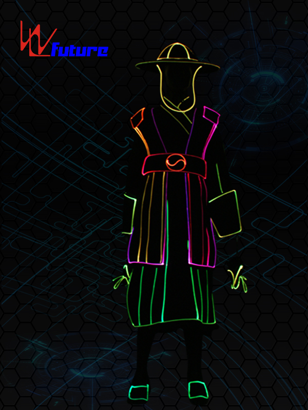 Good Wholesale VendorsLed Glow Costumes - LED & Fiber Optice Suit Costumes with Hat and Gloves WL-0237 – Future Creative