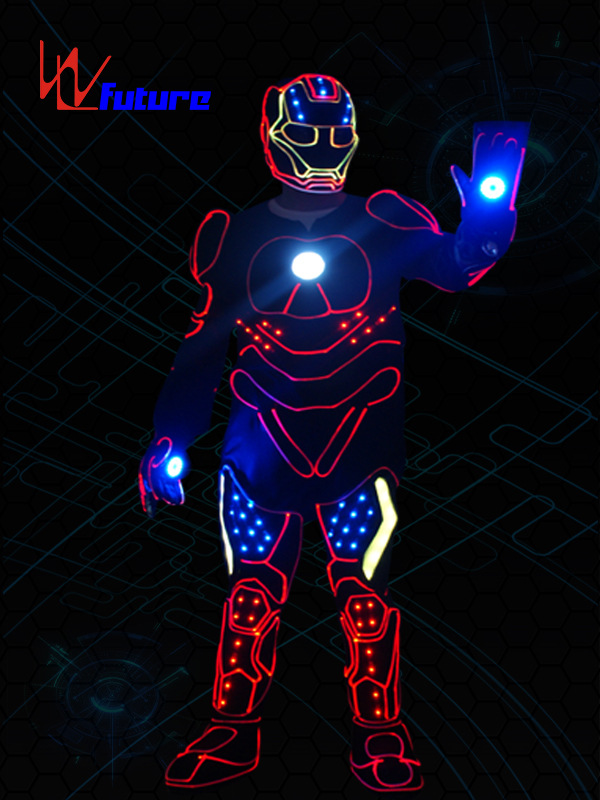 Future High Quality LED Tron Dance Iron Man Costumes WL-0239 Featured Image