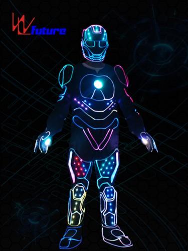 Future High Quality LED Tron Dance Iron Man Costumes WL-0239
