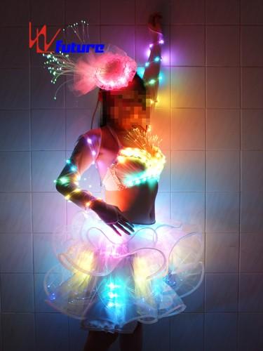 Custom Sexy LED Light Up Dress for Pole Dance Show WL-039