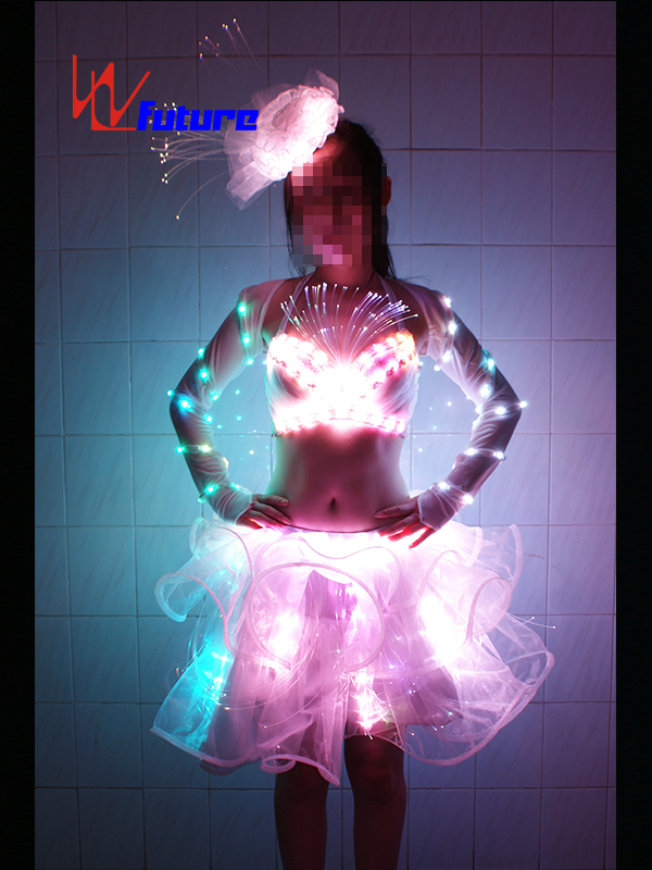 Custom Sexy LED Light Up Dress for Pole Dance Show WL-039 Featured Image