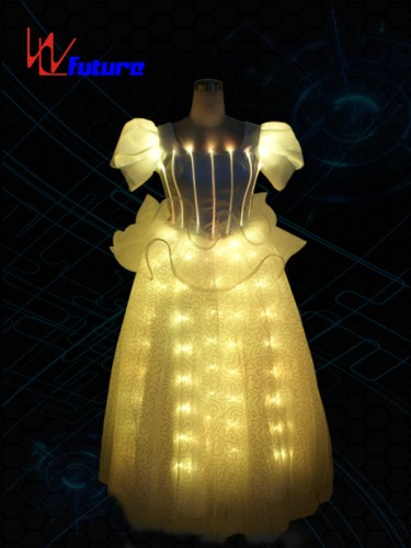 Girls led light up fairy dress costume,LED prom dress WL-041