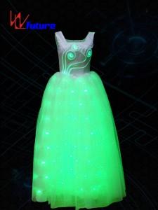 LED light up dance performance dress costume WL-049