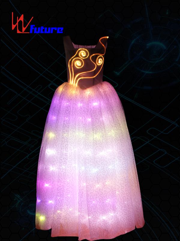 Manufacturer ofCustom Led For Costumes - LED light up dance performance dress costume WL-049 – Future Creative