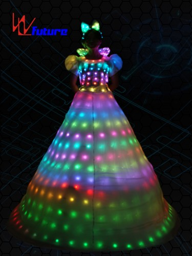 Full color LED Stitls Walker Dresses,LED Costumes For Women WL-055
