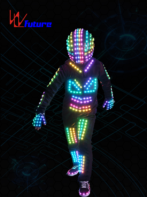 Programmable LED Robot Cosutme with Helmet WL-067 Featured Image