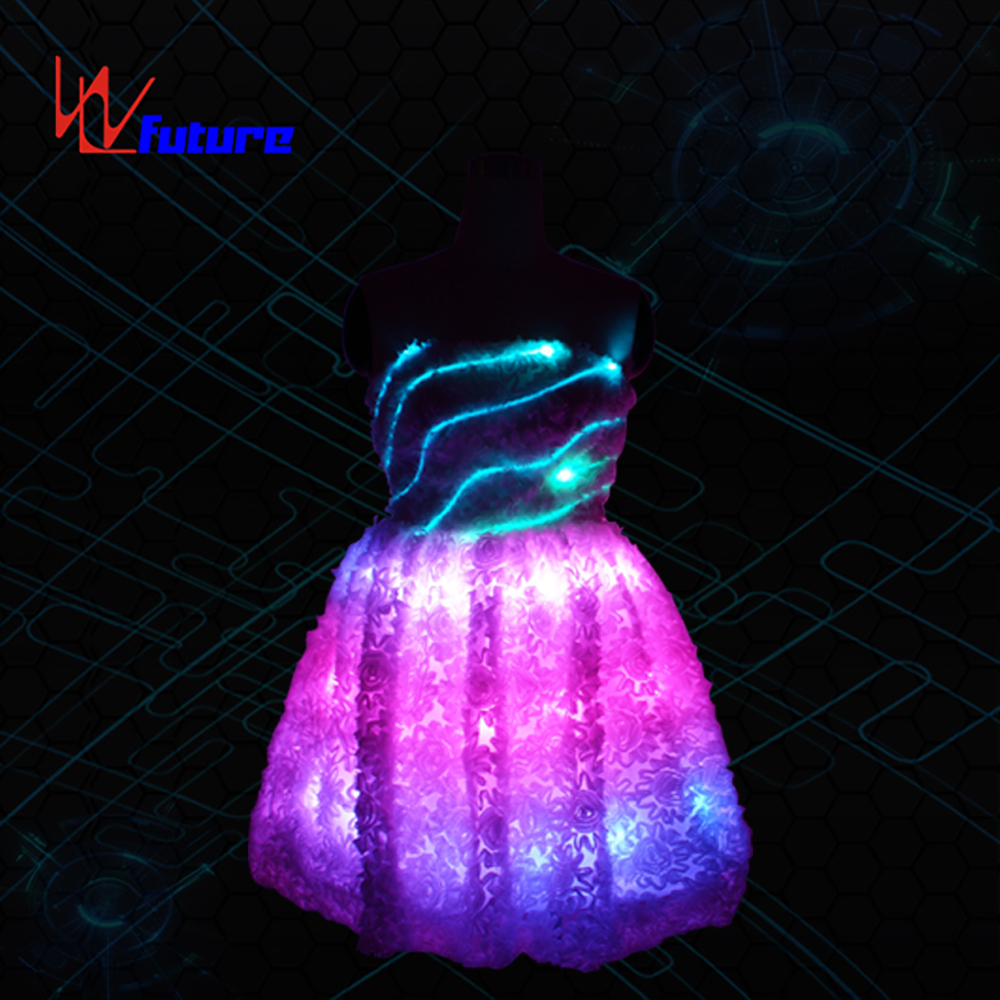 Neon light Evening Dress LED Clothing WL-07 Featured Image