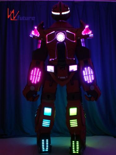 Future High Quality Stilts Walker LED Robot Suit Costumes WL-01000