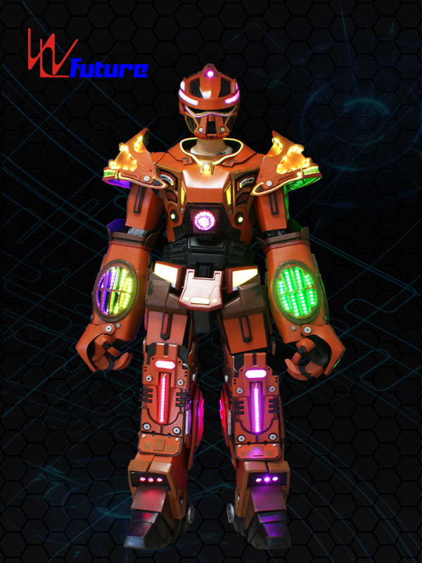 Future High Quality Stilts Walker LED Robot Suit Costumes WL-01000 Featured Image