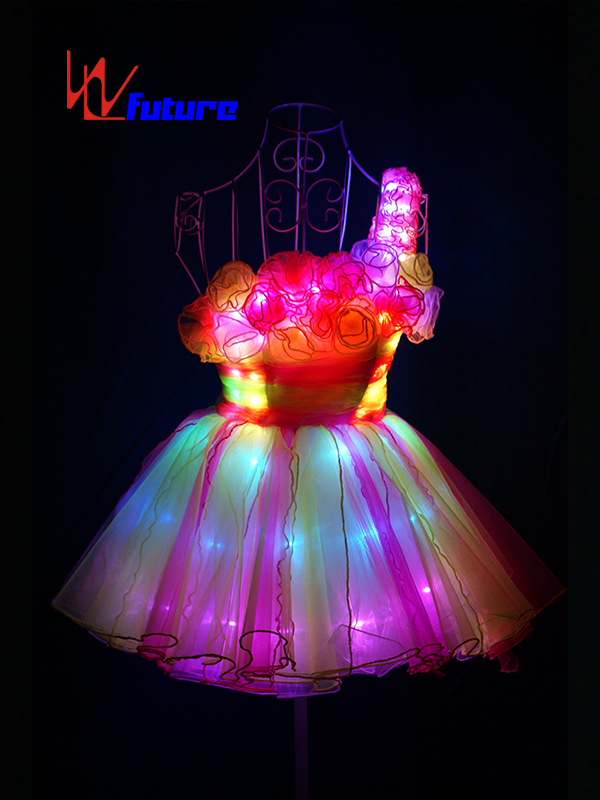 Beautiful Sexy LED Short Skirt Costume for Girl Party WL-0142 Featured Image