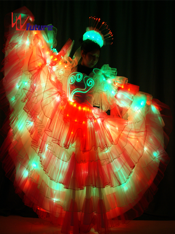 Spanish style LED dress costume for parade floats show WL-0173 Featured Image