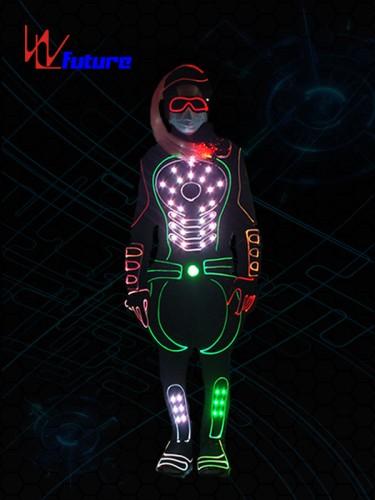 Future LED light up suit & hair dance performance wear WL-0252