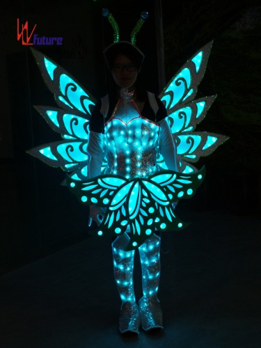 Future Creative Butterfly LED Dance Costumes Wings,Fairy Clothing WL-0256