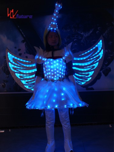 Future Creative LED Dance Costumes Wings,Fairy Dress Clothes for Show WL-0257