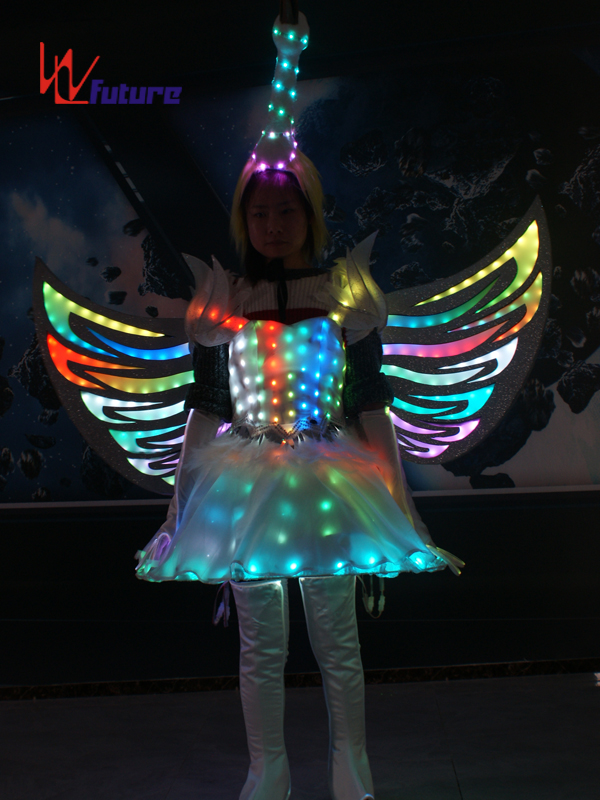 Future Creative LED Dance Costumes Wings,Fairy Dress Clothes for Show WL-0257 Featured Image