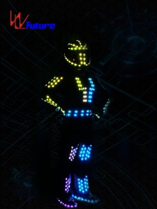 LED Robot Jumpsuit with Helmet WL-0158