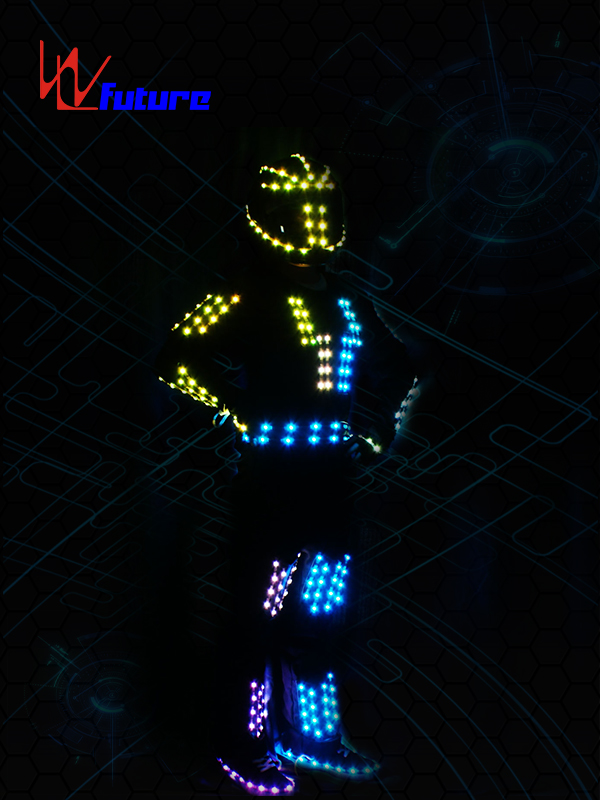 LED Robot Jumpsuit with Helmet WL-0158 Featured Image