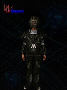 LED Tron Costume with Helmet WL-0159
