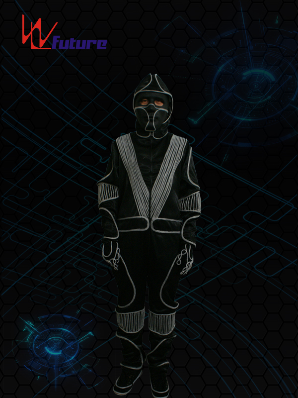 professional factory for Tron Costume With Lights - Glow in the dark halloween costumes WL-037 – Future Creative