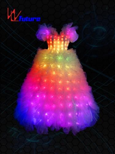Full color LED Wedding Dress Costume WL-022