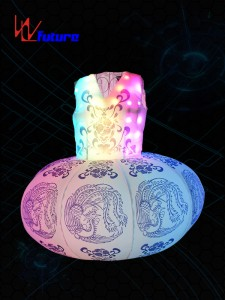 Full color Inflatable LED lantern Dress WL-0192