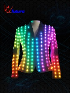 Full Color LED Pixel Jacket WL-019