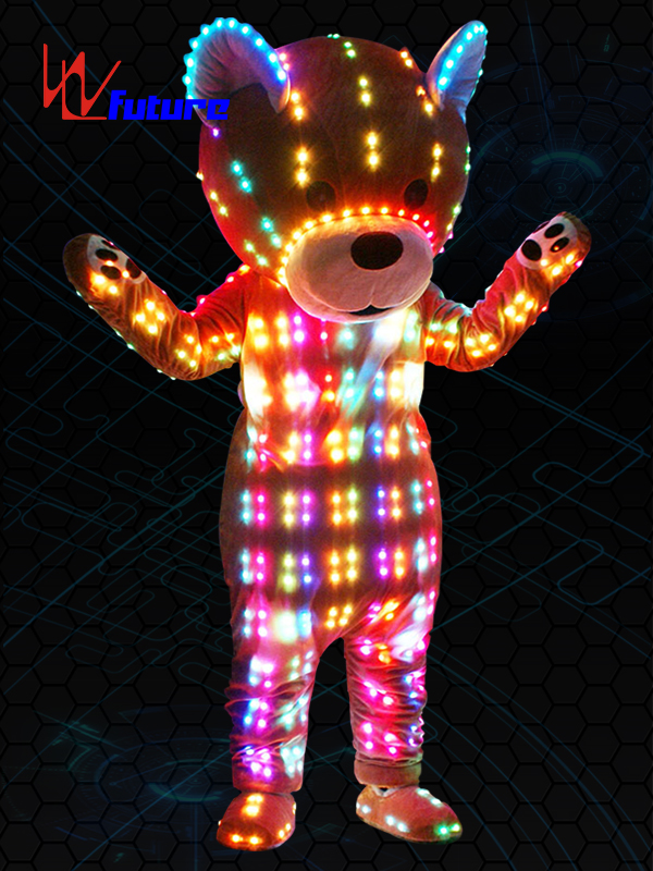 Custom Mascot LED Bear Costume,LED dance accesories WL-0228 Featured Image