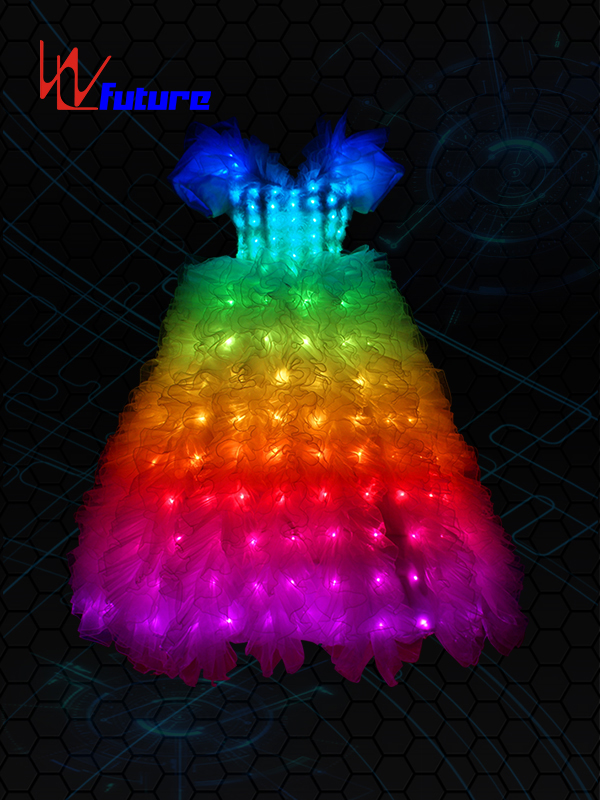 8 Year Exporter Runway Led Jumpsuit -